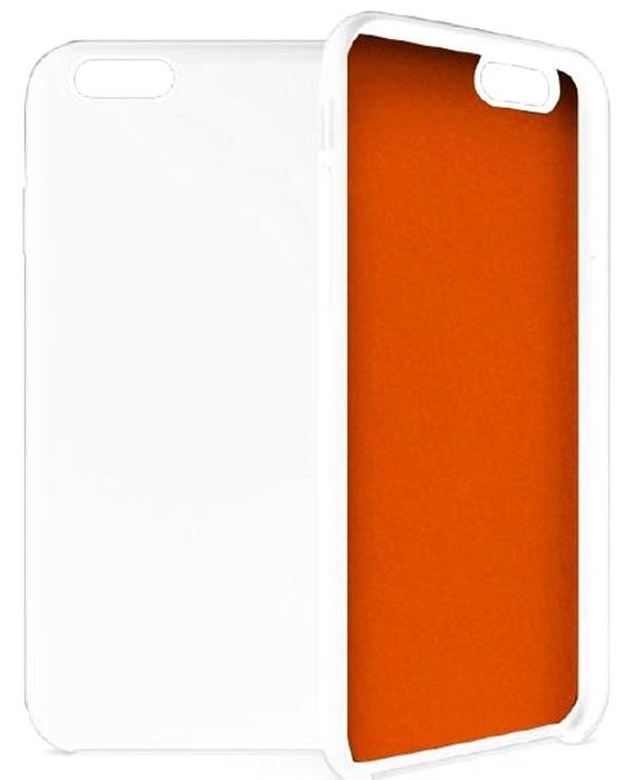 Gear4 SoftCase IC6023 чехол для iPhone 6/6s, White OrangeIC6023Gear4 SoftCase - полезный аксессуар, который надежно защищает ваш Apple iPhone 6/6s от внешних воздействий, грязи, пыли, брызг. Также Gear4 SoftCase поможет при ударах и падениях, смягчая удары, не позволяя образовываться на корпусе царапинам и потертостям. Кроме того, он будет незаменим при длительной транспортировке устройства.