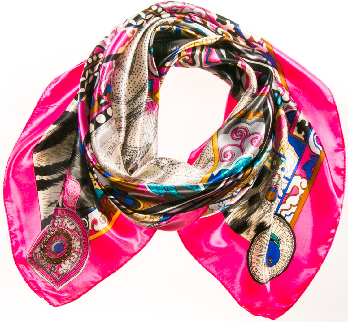 Платок женский Vita Pelle, цвет: розовый. K09P3517113. Размер универсальный