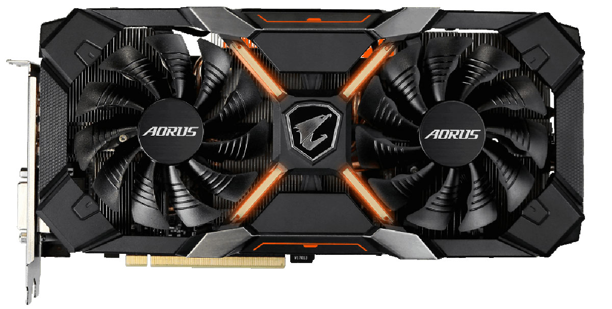 Gigabyte AORUS Radeon RX 580 8GB видеокарта видеокарта для компьютера в благовещенске