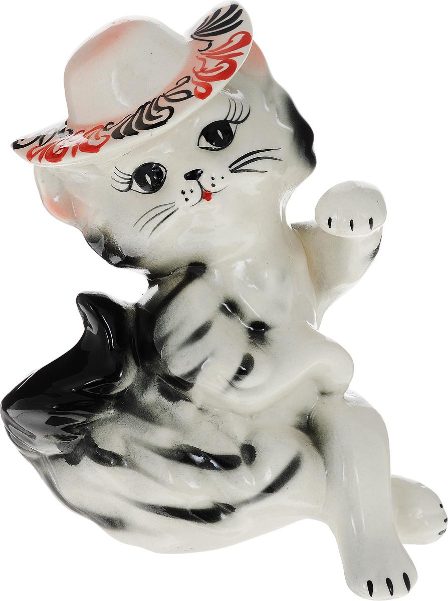 Копилка Керамика ручной работы Кошка мадам, 12 х 15 х 20 см748922Женщины любят баловать себя покупками для красоты и здоровья. С помощью такой копилки можно незаметно приблизиться к приобретению желаемого. Образ кошки всегда олицетворял привлекательность и символизировал домашнее спокойствие. Поставьте изделие возле предметов роскоши, и оно будет способствовать их преумножению.Обращаем ваше внимание, что копилка является одноразовой.