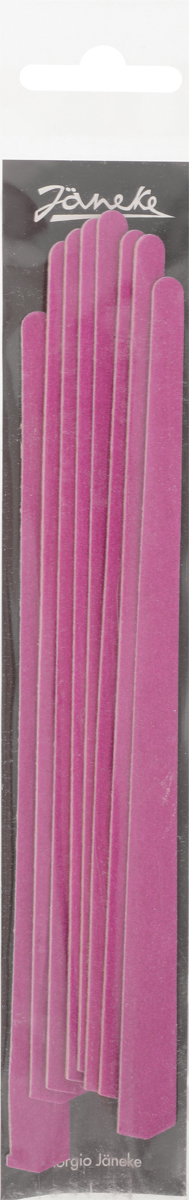 Janeke Пилка для ногтей, 8 штук. MP108 пилки для ногтей zinger пилка тонкая с алмазным напылением
