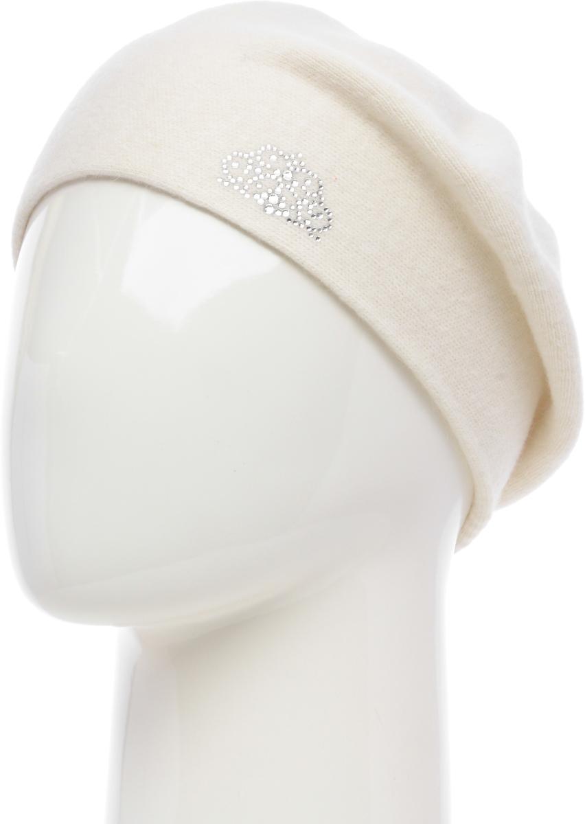Шапка женская Vittorio Richi, цвет: белый. NSH2541986L-11. Размер 58/60NSH2541986L-11Шапка женская Vittorio Richi выполнена из шерсти, ангоры и полиамида. Модель без подкладки.Уважаемые клиенты!Размер, доступный для заказа, является обхватом головы.
