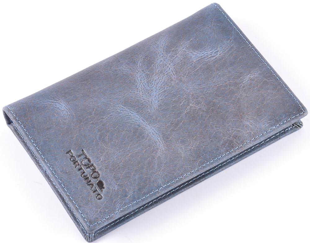 Обложка на паспорт женская Topo Fortunato Серый Слон. TF 226-093Натуральная кожаОбложка на паспорт из натуральной кожи. Бренд Topo Fortunato. Размер 9,5 х 13,3 см. С левой стороны кожаный захват, два кармашка для пластиковых карт, прозрачное окошко для пропуска, с правой стороны пластиковый захват.