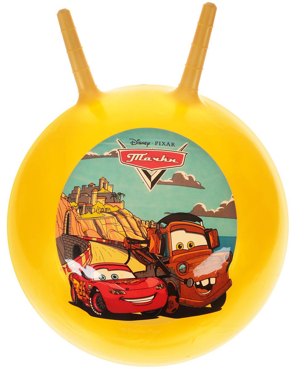 Играем вместе Мяч-прыгунок Тачки с рожками цвет желтый 45 см играем вместе мяч русалочка 33 см играем вместе