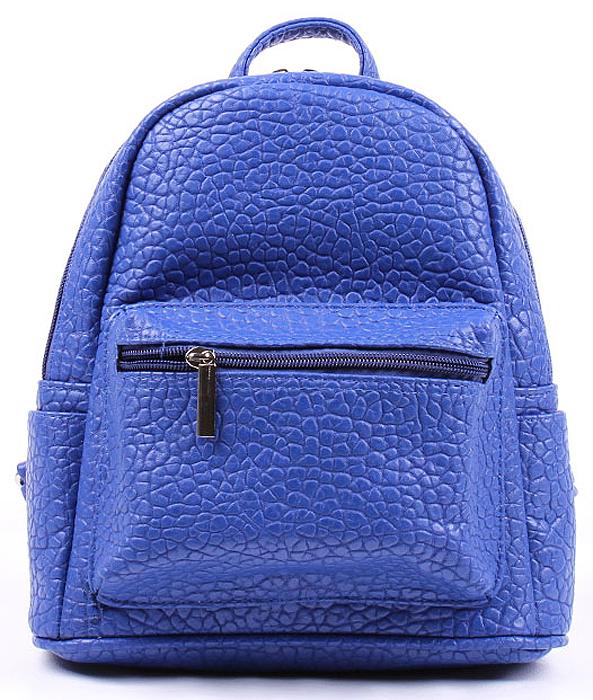 Рюкзак женский Медведково, цвет: голубой. 17с6188-к14