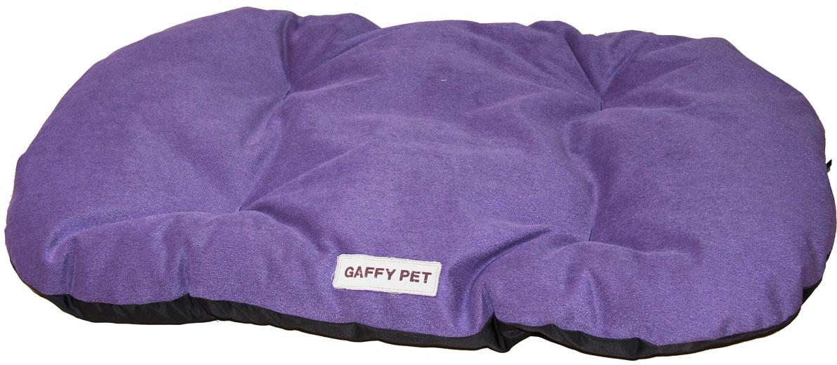 Подушка Gaffy Pet  Velvet , цвет: пурпурный, 100 х 65 см