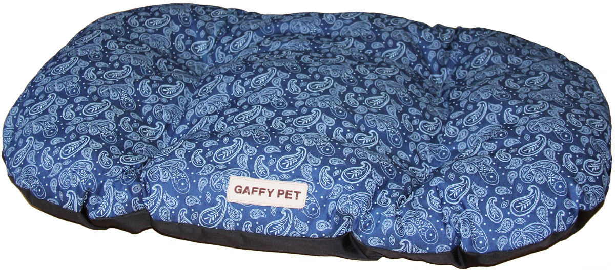 Подушка Gaffy Pet Paisley, 100 х 65 см77045Подушка из серии Пейсли с популярным орнаментом Огурцы. Классическая форма удобна для перемещения и в поездках. Прочная, не истирается, подвергается любой чистке.