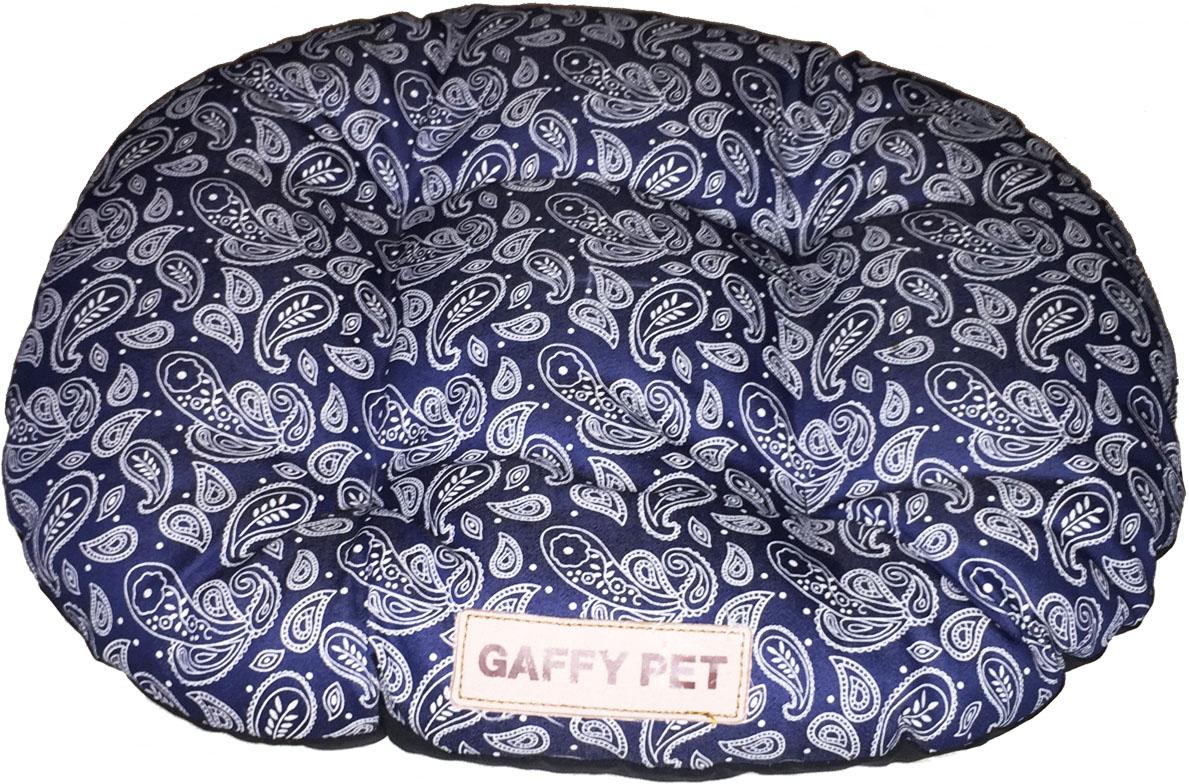 Подушка Gaffy Pet Paisley, 55 х 45 см77045Подушка из серии Пейсли с популярным орнаментом Огурцы. Классическая форма удобна для перемещения и в поездках. Прочная, не истирается, подвергается любой чистке.
