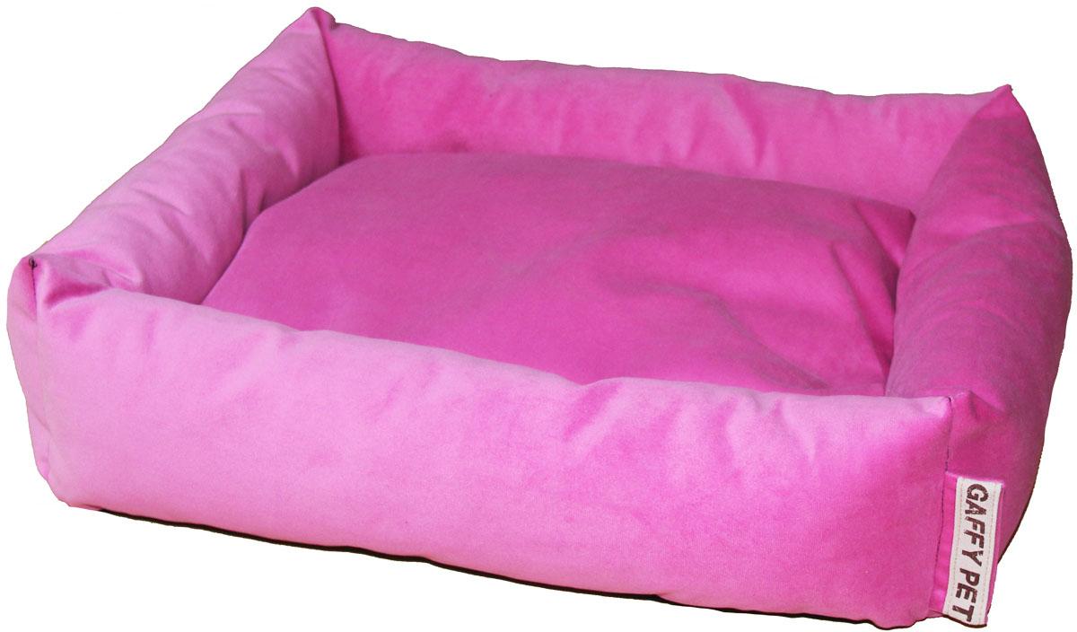 Лежак Gaffy Pet Sofa, цвет: розовый, 65 х 55 х 18 см11215LСерия SOFA - универсальная форма для отдыха. Различные ткани и расцветки на любой вкус. Прочные профессиональные ткани.