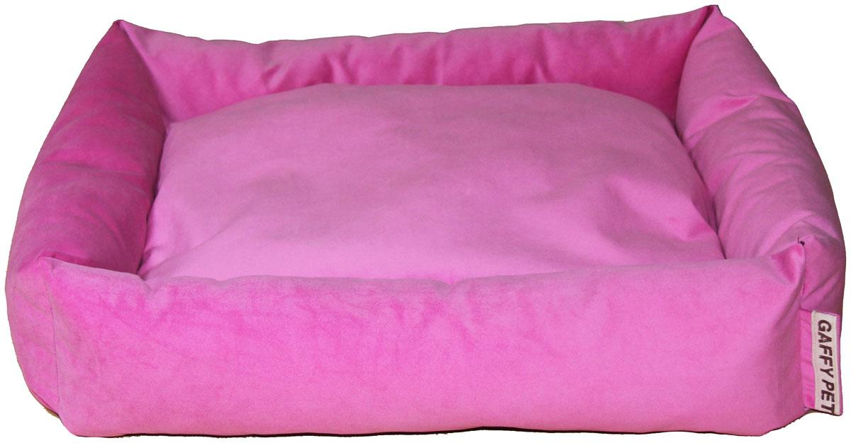 Лежак Gaffy Pet Sofa, цвет: розовый, 55 х 45 х 16 см11236 MСерия SOFA - универсальная форма для отдыха. Различные ткани и расцветки на любой вкус. Прочные профессиональные ткани.