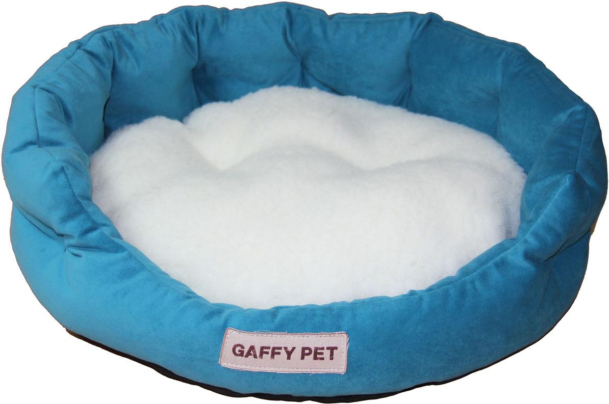 Лежак Gaffy Pet Soft, цвет: бирюзовый, 55 х 45 х 16 см814195Серия SOFT - уютные корзинки для питомцев. Мягкие и комфортные подушки придутся по душе всем питомцам. Дизайны универсальны для любого интерьера.