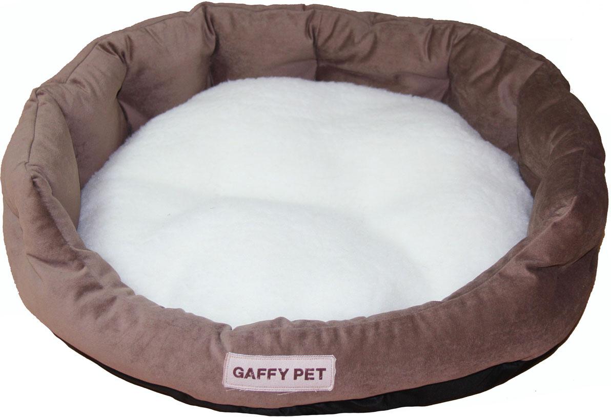 Лежак Gaffy Pet Soft, цвет: шоколадный, 65 х 55 х 18 см10011411Серия SOFT - уютные корзинки для питомцев. Мягкие и комфортные подушки придутся по душе всем питомцам. Дизайны универсальны для любого интерьера.