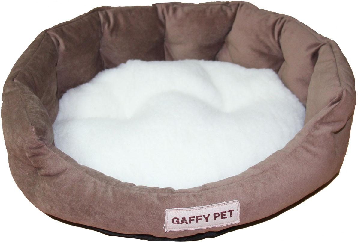 Лежак Gaffy Pet Soft, цвет: шоколадный, 55 х 45 х 16 см11221MСерия SOFT - уютные корзинки для питомцев. Мягкие и комфортные подушки придутся по душе всем питомцам. Дизайны универсальны для любого интерьера.