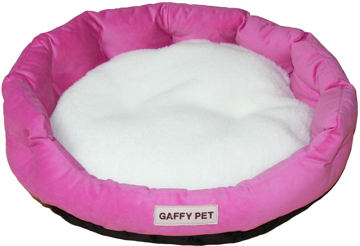 Лежак Gaffy Pet Soft, цвет: розовый, 65 х 55 х 18 см11222LСерия SOFT - уютные корзинки для питомцев. Мягкие и комфортные подушки придутся по душе всем питомцам. Дизайны универсальны для любого интерьера.
