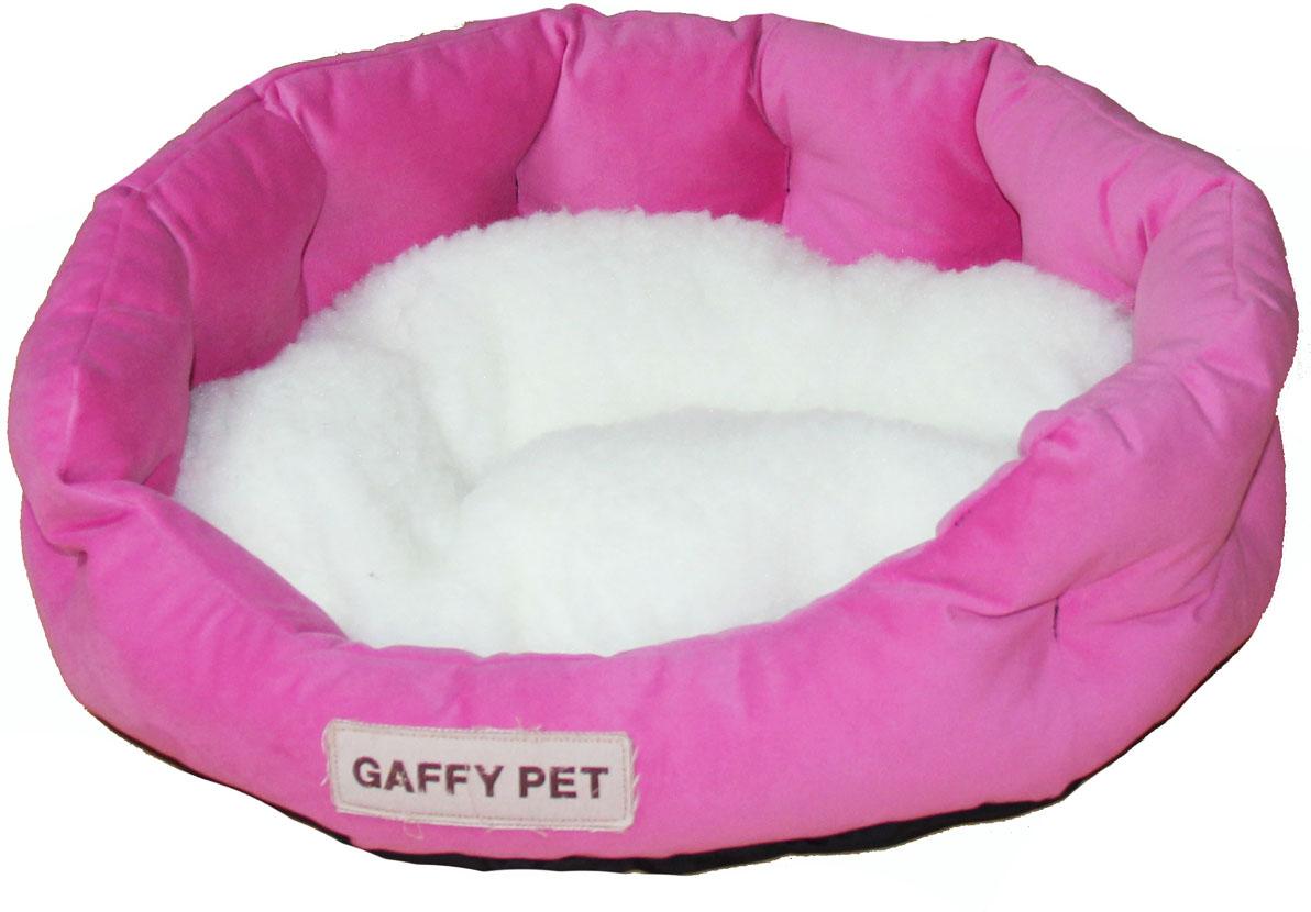 Лежак Gaffy Pet Soft, цвет: розовый, 45 х 35 х 14 см11222SСерия SOFT - уютные корзинки для питомцев. Мягкие и комфортные подушки придутся по душе всем питомцам. Дизайны универсальны для любого интерьера.