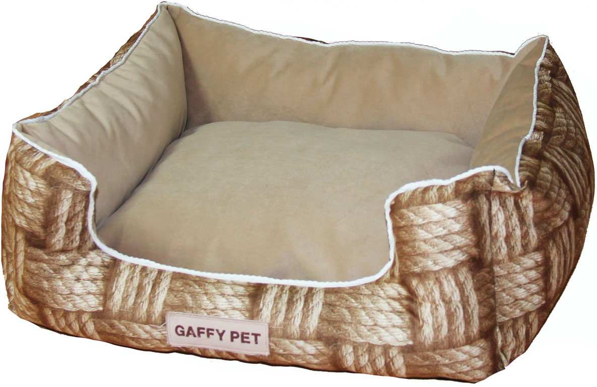 Лежак Gaffy Pet Basket Square, 55 х 45 х 23 см