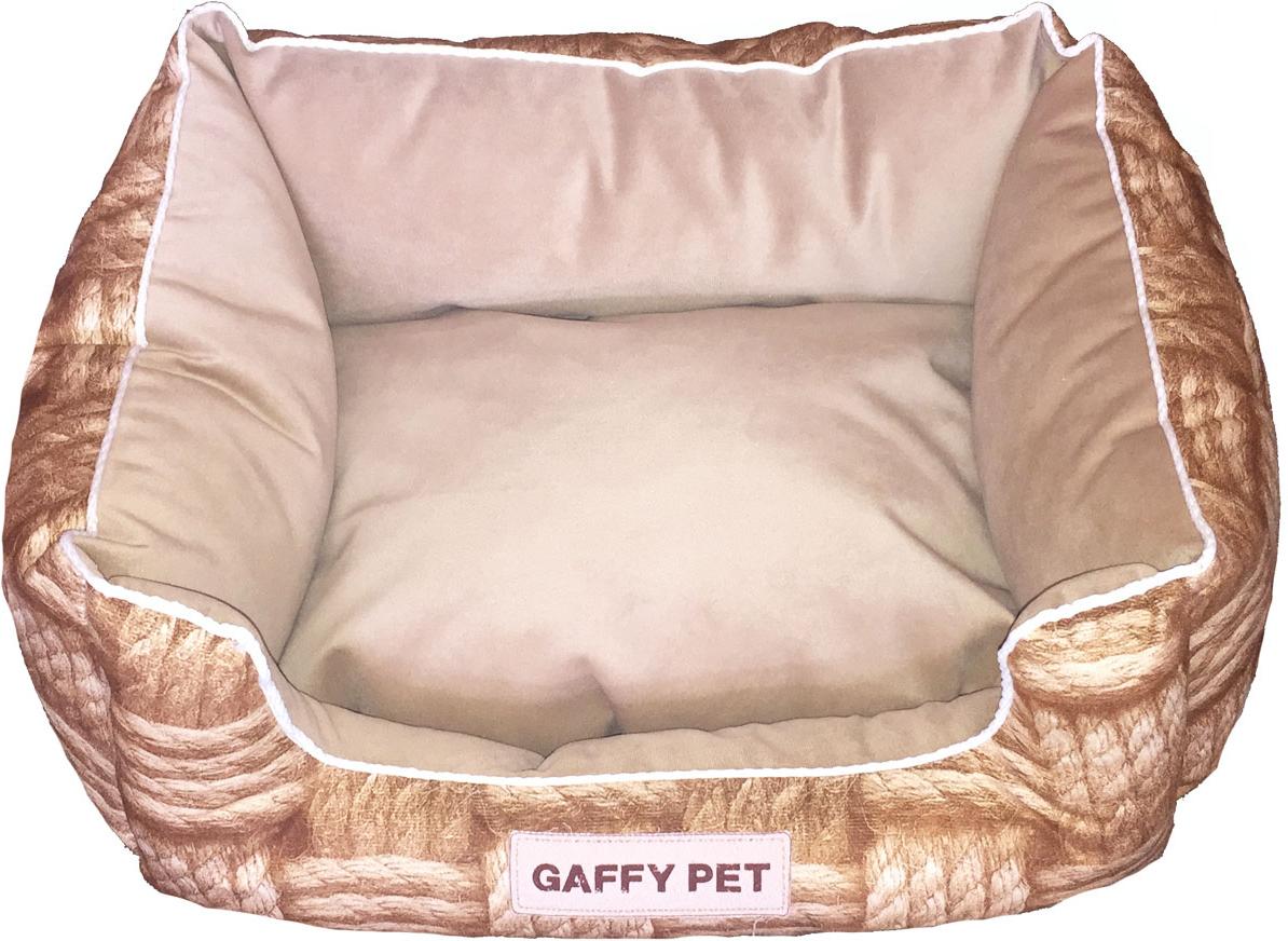 Лежак Gaffy Pet Basket Square, 45 х 35 х 22 см11254SНовая коллекция из серии ПЛЕТЕНЫЕ КОРЗИНЫ из прочных профессиональных тканей. АНТИКОГОТЬ. Высота борта впереди варьируется. Очаровательная расцветка подойдет как кошкам, так и собакам. Можно стирать на ручном режиме в стиральной машине и чистить щеткой.