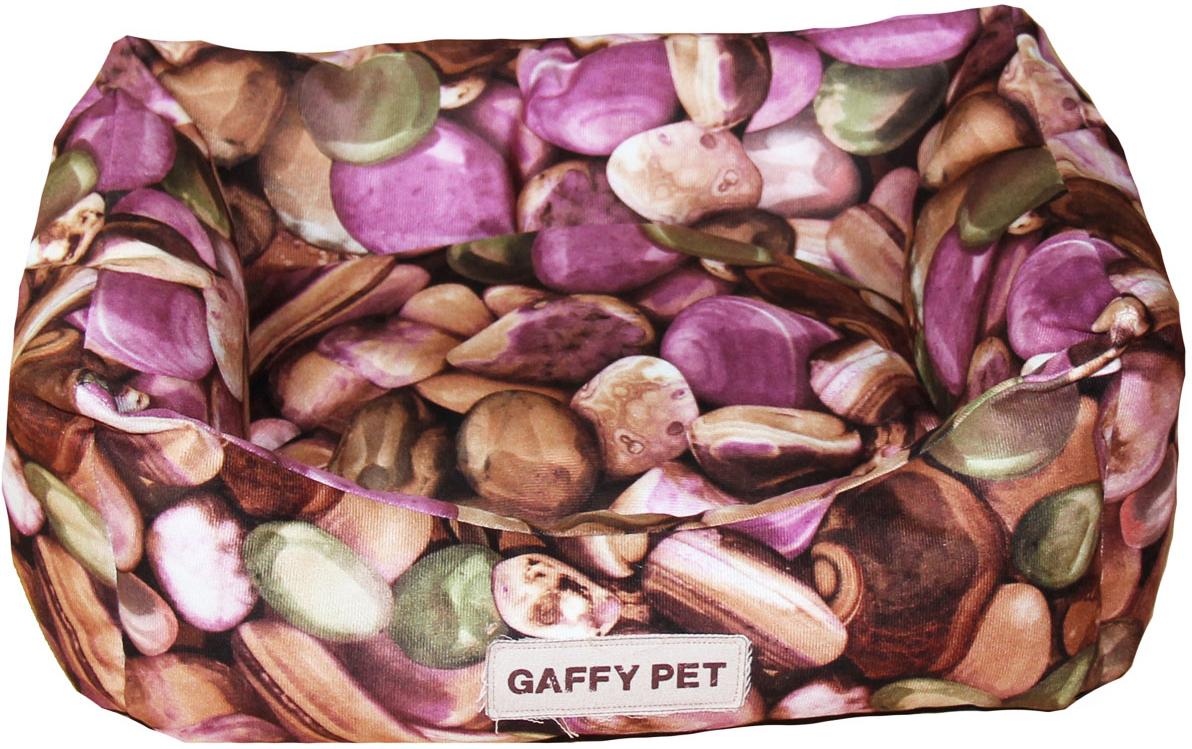 Лежак Gaffy Pet  Stone , цвет: розовый, 45 х 35 х 22 см - Лежаки, домики, спальные места