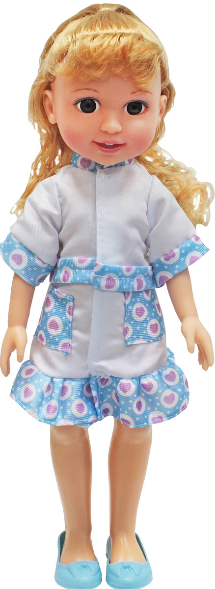 1TOY Кукла Красотка Маленький Доктор блондинка 1toy туалетный столик с куклой красотка