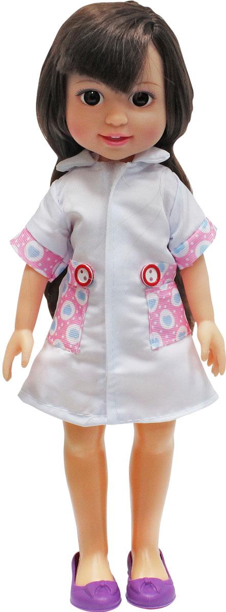 1TOY Кукла Красотка Маленький Доктор брюнетка 1toy туалетный столик с куклой красотка