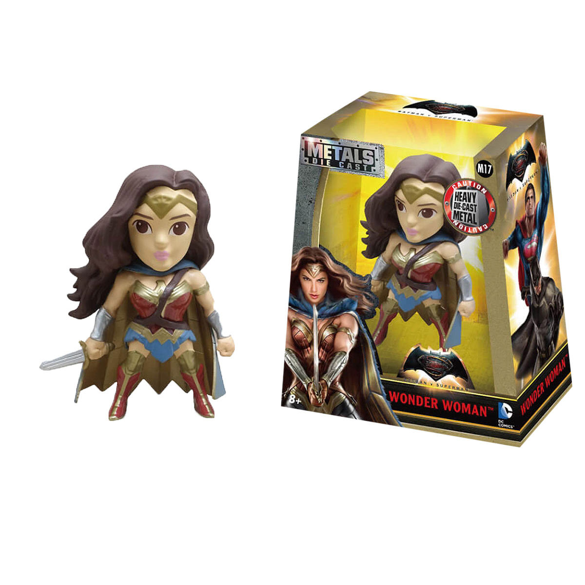 Jada DC Comics Фигурка Wonder Woman брелок dc comics batman logo