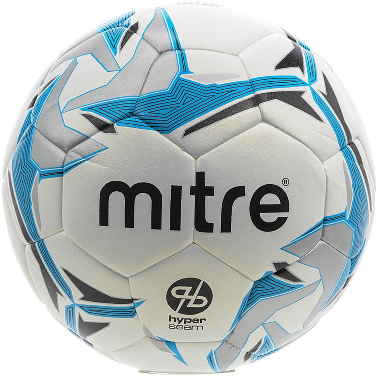 Мяч футбольный Mitre Astro Division Hyperseam. Размер 5BB1069WKRМатчевый мяч. Обладает повышенной износостойкостьюМатовое покрытиеСоздан по новейшей запатентованной MITRE технологии HYPERSEAM - шитый вручную изнутри и покрытый панелями, соединенными методом термосклейкиБутиловая камера надолго сохраняет давлениеДля травяных полей и полей с жестким покрытиемРазмер 5Панелей 32