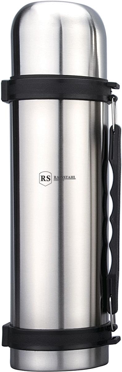 Термос Rainstahl, цвет: стальной, 1 л. 7730-10RS\TH7730-10RS\THТермос с узким горлом. Объем 1 л. Корпус металлический