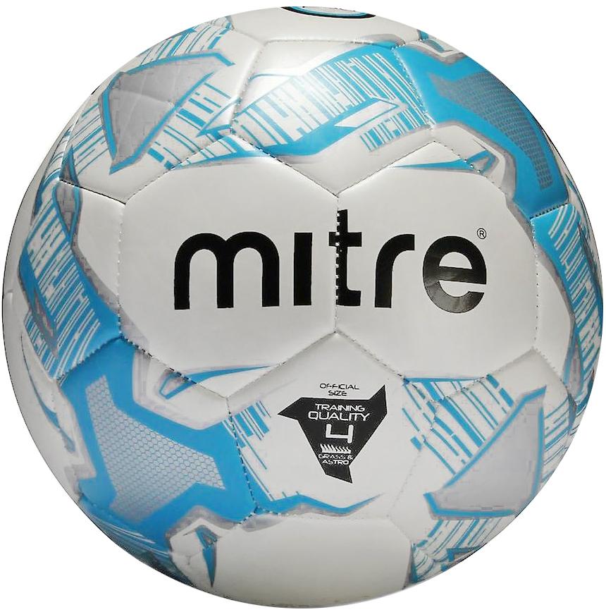 Мяч футбольный Mitre Junior Lite 290. Размер 4BB1055WKRТренировочный юниорский облегчённый мяч Пенная подкладка для придания мягкости Машинная сшивка Вес 290 г Панелей 32