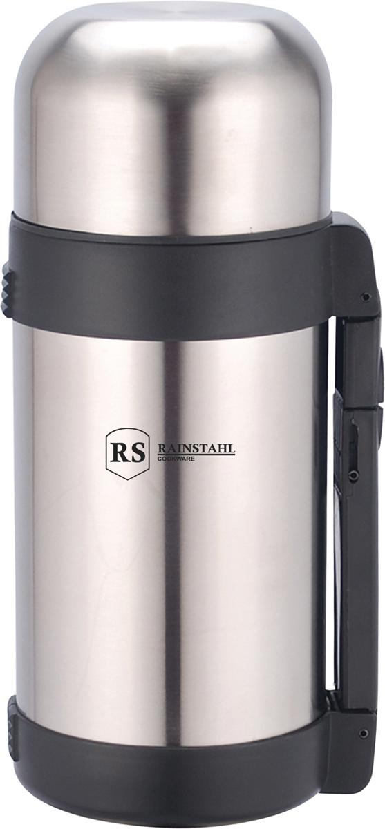 Термос Rainstahl, цвет: стальной, 1,2 л. 7731-12RS\TH7731-12RS\THТермос универсальный с широким горлом. Объем 1,2 л. Корпус металлический
