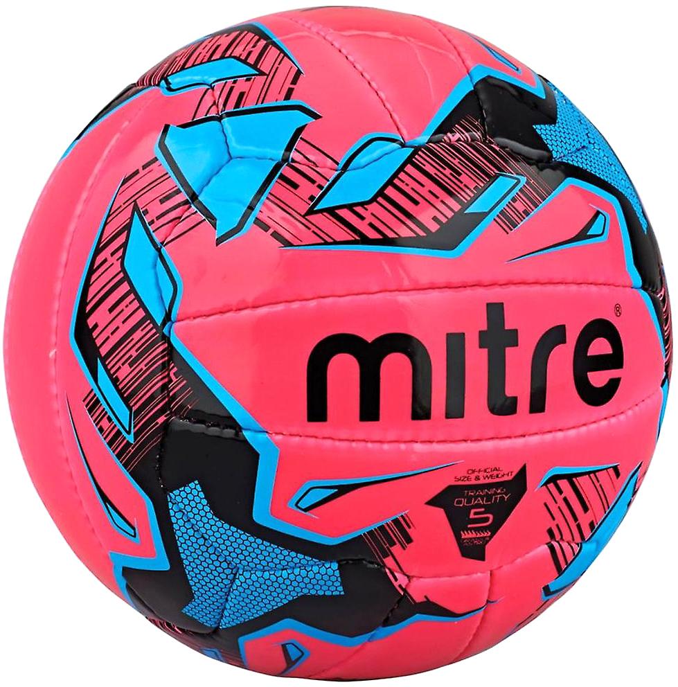 Мяч футбольный Mitre Malmo Plus. Размер 5BB1107PBCТренировочный мяч Панелей 18 Страна производитель: Индия Ручная сшивка Сделан из упругого износостойкого патентованного PVC Для любого грунта Всепогодный