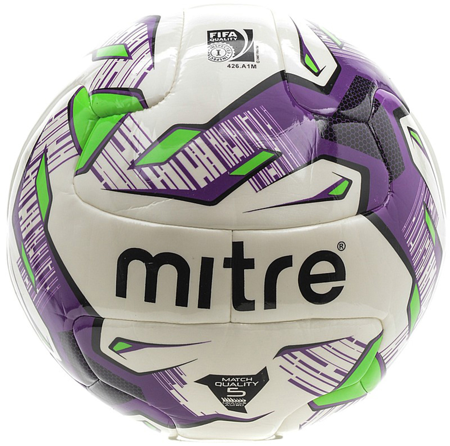 Мяч футбольный Mitre Manto V12S Hyperseam Fifa Inspected. Размер 5