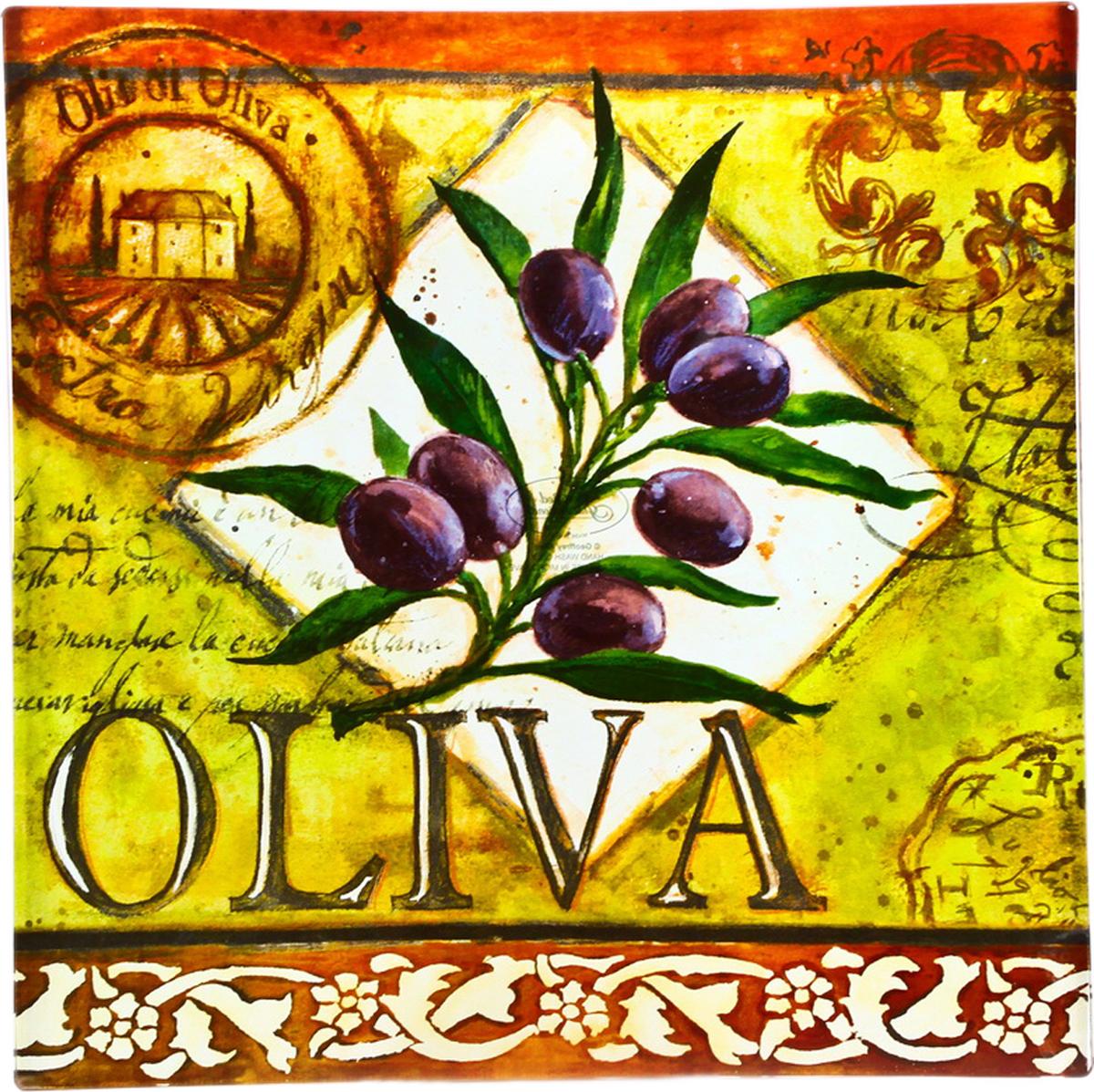 Блюдо Certified International Oliva, 35 см х 35 см40298Изящное квадратное блюдо Certified International Oliva выполнено из прочного стекла иоформлено изображением ветки оливы. Блюдо прекрасно подойдет для сервировки различныхблюд.Такое блюдо прекрасно оформит праздничный стол и станет желанным подарком для любойхозяйки.Размер: 35 см х 35 см х 2 см.