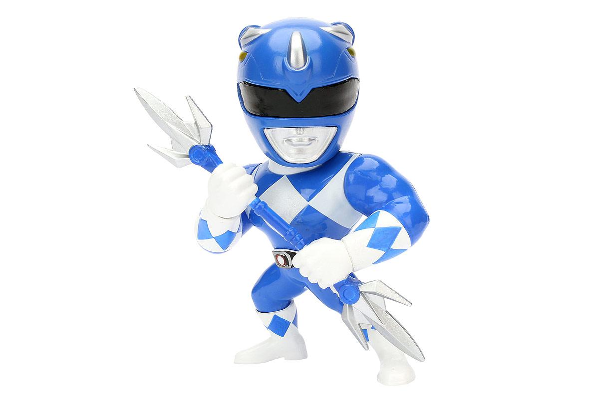 Jada Могучие рейнджеры Фигурка Blue Ranger фигурка jada armored batman 10 см металлическая