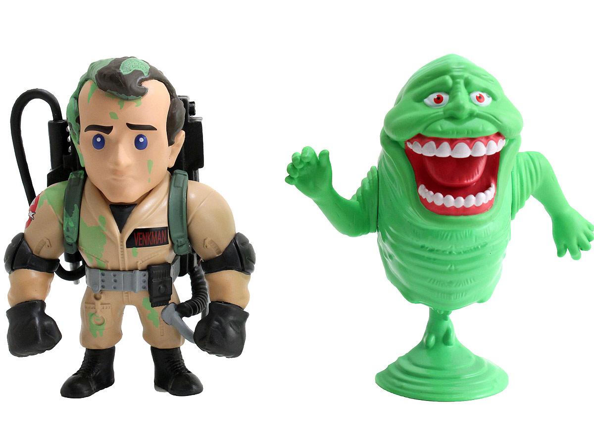Jada Охотники за привидениями Набор фигурок Ghostbusters Venkman и Slimer