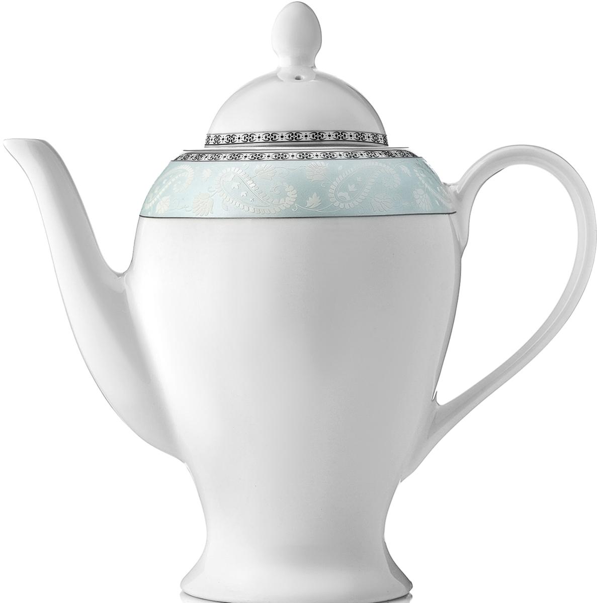 Чайник заварочный Esprado Arista Blue, 920 млARBL92BE306Чайник заварочный Esprado Arista Blue изготовлен из высококачественного костяногофарфора с глазурованным покрытием, которое обеспечивает легкую очистку. Изделие прекрасноподходит для заваривания вкусного и ароматного чая, а также травяных настоев. Оригинальныйдизайн сделает чайник настоящим украшением стола. Он удобен в использовании и понравитсякаждому.