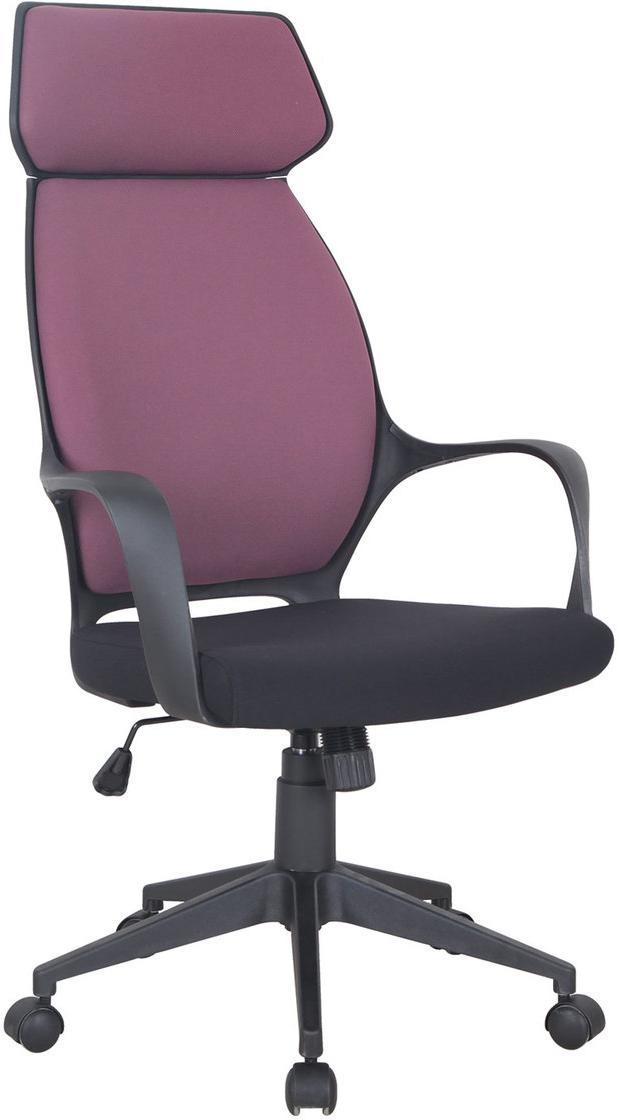 Кресло офисное Brabix Galaxy EX-519, цвет: черный, терракотовый531570Практичная, яркая модель для дома и офиса с выраженной поддержкой спины. Оригинальный, выразительный дизайн и комфортные габаритные размеры в сочетании с доступной ценой. Модель оснащена встроенным подголовником и механизмом качания. Материал обивки - мебельная ткань, стойкая к повреждению и выцветанию. Механизм качания Top-Gun с регулировкой под вес и фиксацией. Подлокотники и пятилучие - пластиковые, повышенной прочности. Встроенный подголовник. Эргономичная конструкция спинки. Подлокотники и пятилучие - черного цвета. Просторное мягкое сидение. Рекомендуемая нагрузка на кресло до 120 кг. Цвет обивки - комбинация черного и терракотового.