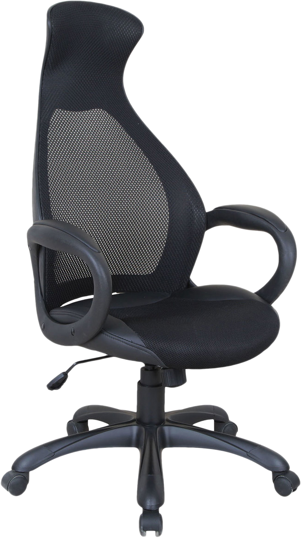Кресло офисное Brabix Genesis EX-517, цвет: черный531574Кресло - это уникальное сочетание комфорта и передовых технологий. Сетчатая спинка улучшает вентиляцию, а стильный яркий дизайн идеально впишется в интерьер любого помещения. Модель оснащена механизмом качания. Материал обивки - экокожа, с тканевыми вставками и акриловой сеткой. Механизм качания Top-Gun с регулировкой под вес и фиксацией. Подлокотники и пятилучие - пластиковые, повышенной прочности. Встроенный подголовник. Эргономичная конструкция спинки. Подлокотники и пятилучие - черного цвета. Просторное мягкое сидение. Противоскользящие накладки на пятилучии. Рекомендуемая нагрузка на кресло до 120 кг. Цвет обивки - черный.
