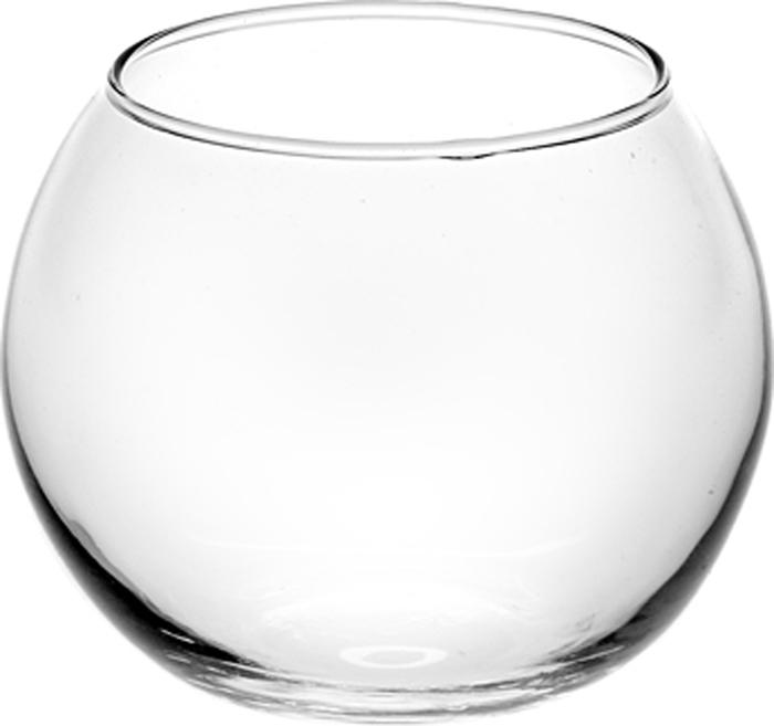 Ваза Pasabahce Flora, цвет: прозрачный, высота 7,9 см43407SLBВаза FLORA h=79 мм, V=400 мл (прозрачное стекло).