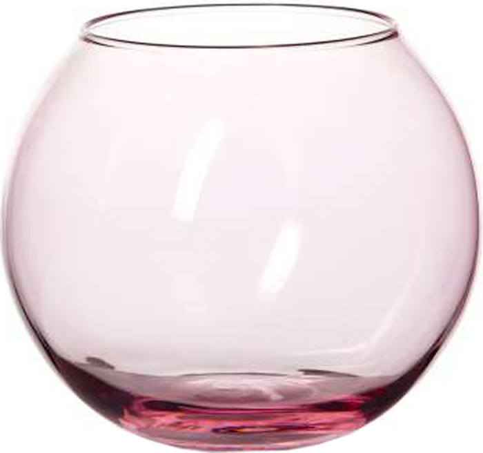 Ваза Pasabahce Энжой Пинк, цвет: розовый, 10,2 см43417SLBD13Ваза круглая розового цвета h=102,5 мм, диаметр горловины 85 мм.