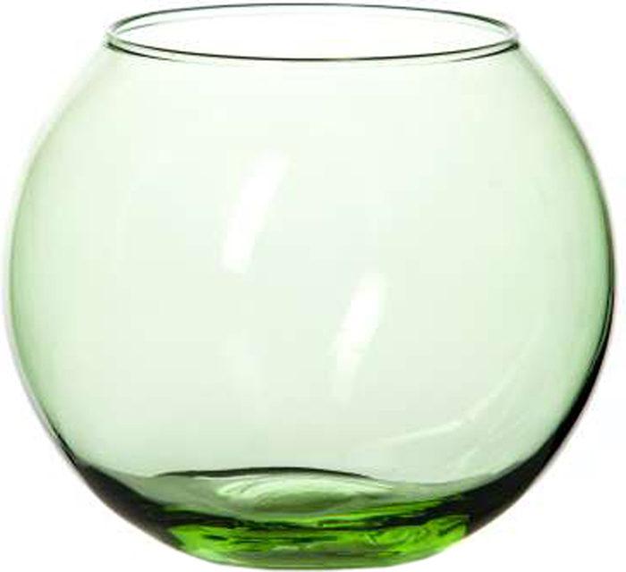 Ваза Pasabahce Энжой Грасс, цвет: зеленый, 10,2 см43417SLBD15Ваза круглая цвета молодой травы, h=102,5 мм, диаметр горловины 85 мм.