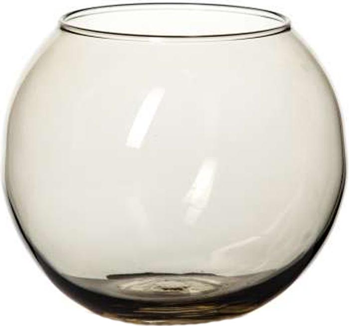 Ваза Pasabahce Энжой Смоук, цвет: дымчатый, 10,2 см43417SLBD16Ваза круглая дымчатого цвета h=102,5 мм, диаметр горловины 85 мм.