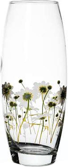 """Элегантная ваза Pasabahce """"Камилла"""" выполнена из высококачественного прозрачного стекла и оформлена по кругу рисунком с изображением ромашек.Такая ваза придется по вкусу и ценителям классики, и тем, кто предпочитает утонченность и изысканность."""