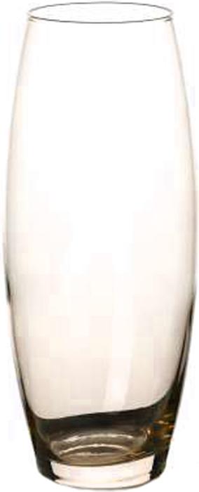 Ваза Pasabahce Энжой Карамель, цвет: прозрачный, оранжевый, 26 см43966SLBD24Ваза для цветов из прозрачного оранжевого стекла, h=260 мм.