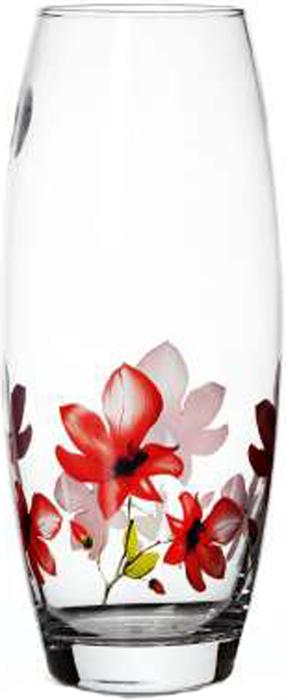 """Элегантная ваза Pasabahce """"Экзотик"""" выполнена из высококачественного прозрачного стекла и оформлена по кругу рисунком с изображением цветов.Такая ваза придется по вкусу и ценителям классики, и тем, кто предпочитает утонченность и изысканность."""
