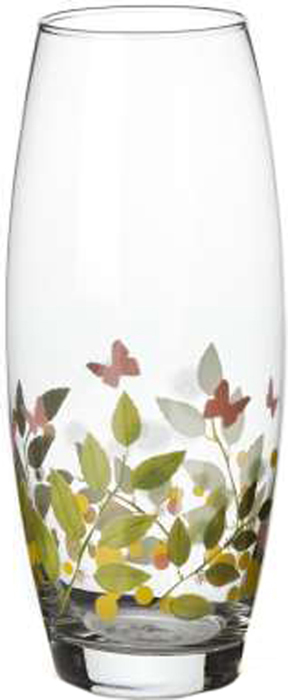 Ваза Pasabahce Баттерфлайс, высота 26 см43966SLBDDЭлегантная ваза Pasabahce Баттерфлайс выполнена из высококачественного прозрачного стекла и оформлена по кругу рисунком с изображением веточек и бабочек.Такая ваза придется по вкусу и ценителям классики, и тем, кто предпочитает утонченность и изысканность.