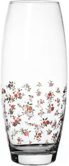 Ваза Pasabahce Прованс, 26 см43966SLBSВаза для цветов h=260 мм , по кругу рисунок Цветы розовые мелкие.