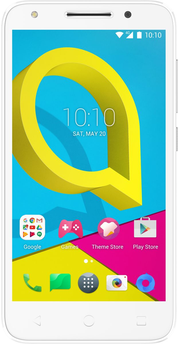 Alcatel OT-5044D U5, Pure White