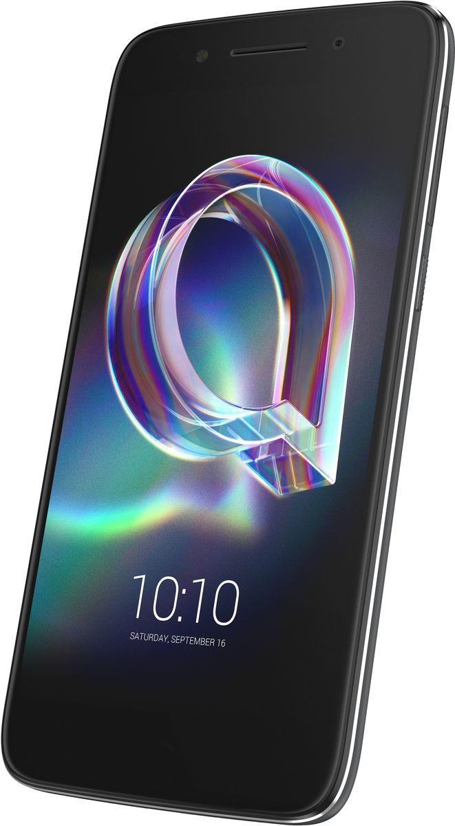 Alcatel 6058D Idol 5, Metal Black4894461739021Alcatel Idol 5 6058D - доступный и производительный LTE-смартфон в тонком и стильном корпусе из металла на базе 64-битного восьмиядерного процессора MediaTek MT6753 1.3 ГГц под управлением ОС Android 7.1.1 (Nougat). Alcatel Idol 5 оснащен 5.2 FHD GFF IPS-дисплеем, 3 Гб оперативной и 16 Гб флеш-памяти, слотом для карт памяти формата microSD (до 128 Гб), поддержкой Wi-Fi, Bluetooth, GPS, A-GPS, FM-радио, 16 Мп тыловой и 8 Мп фронтальной камерами.