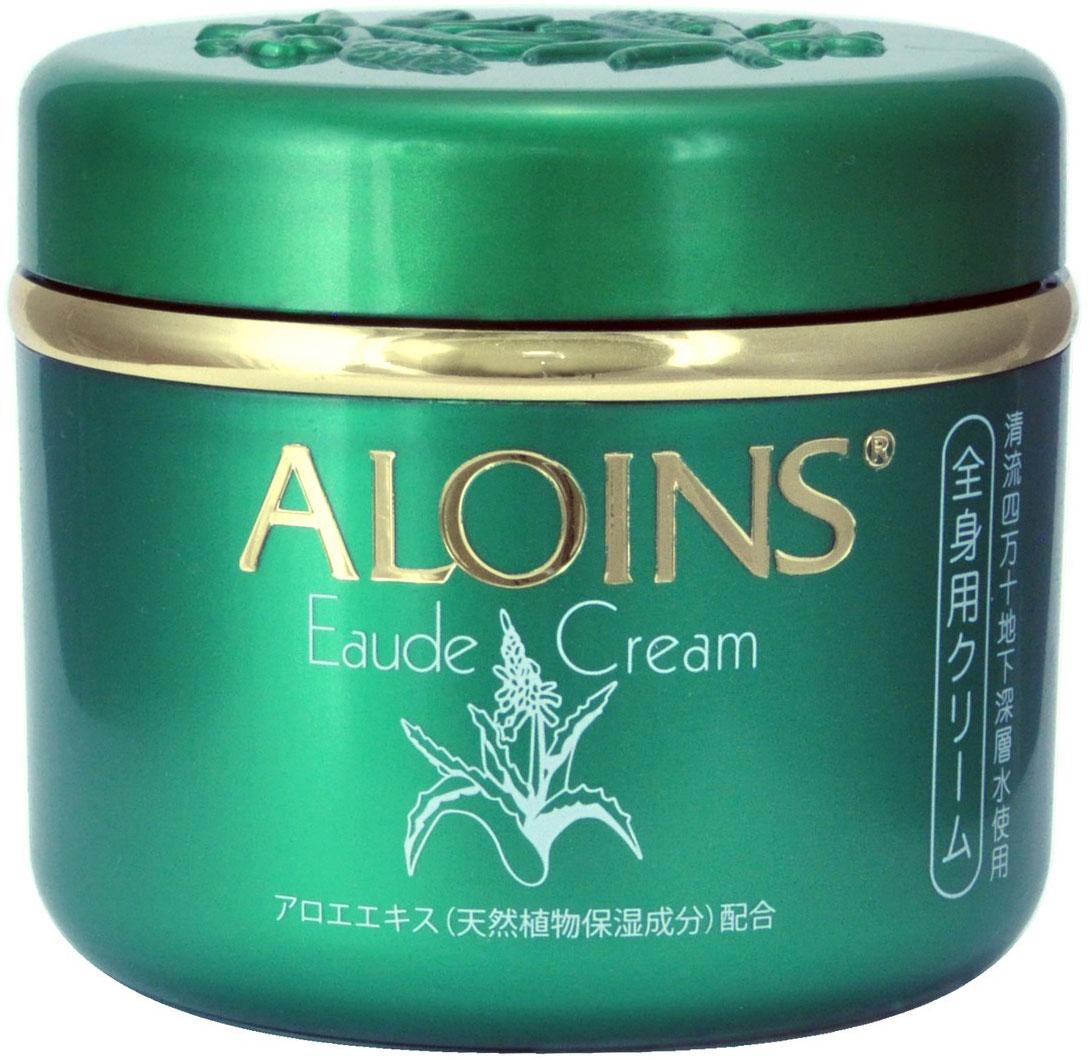 Aloins Крем для тела с экстрактом алоэ, с легким ароматом трав, 185 г140314Крем для тела содержит экстракт органического алоэ - природный растительный увлажняющий компонент, а также гиалуроновую кислоту и коллаген.Преимущества продукта:Предотвращает сухость и огрубение кожи, возникновение трещин.Препятствует появлению воспалений, прыщей, потницы.Защищает кожу от:раздражения после бритья;покраснения после загара, в том числе полученного в горах;обморожения.Активизирует регенерацию клеток кожи.Смягчает, увлажняет и питает, делает кожу упругой.Косметические товары ALOINS производятся в экологически чистом районе Японии - Симанто с использованием натуральных компонентов и очищенной воды из глубоководных подземных источников.Обладает легким ароматом трав.