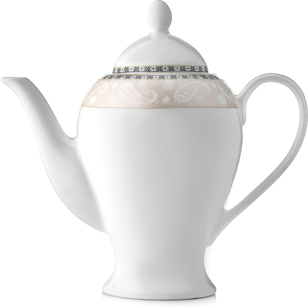Чайник заварочный Esprado Arista Rose, 920 млM1913-01Чайник заварочный Esprado Arista Rose изготовлен из высококачественного костяногофарфора с глазурованным покрытием, которое обеспечивает легкую очистку. Изделие прекрасноподходит для заваривания вкусного и ароматного чая, а также травяных настоев. Оригинальныйдизайн сделает чайник настоящим украшением стола. Он удобен в использовании и понравитсякаждому.